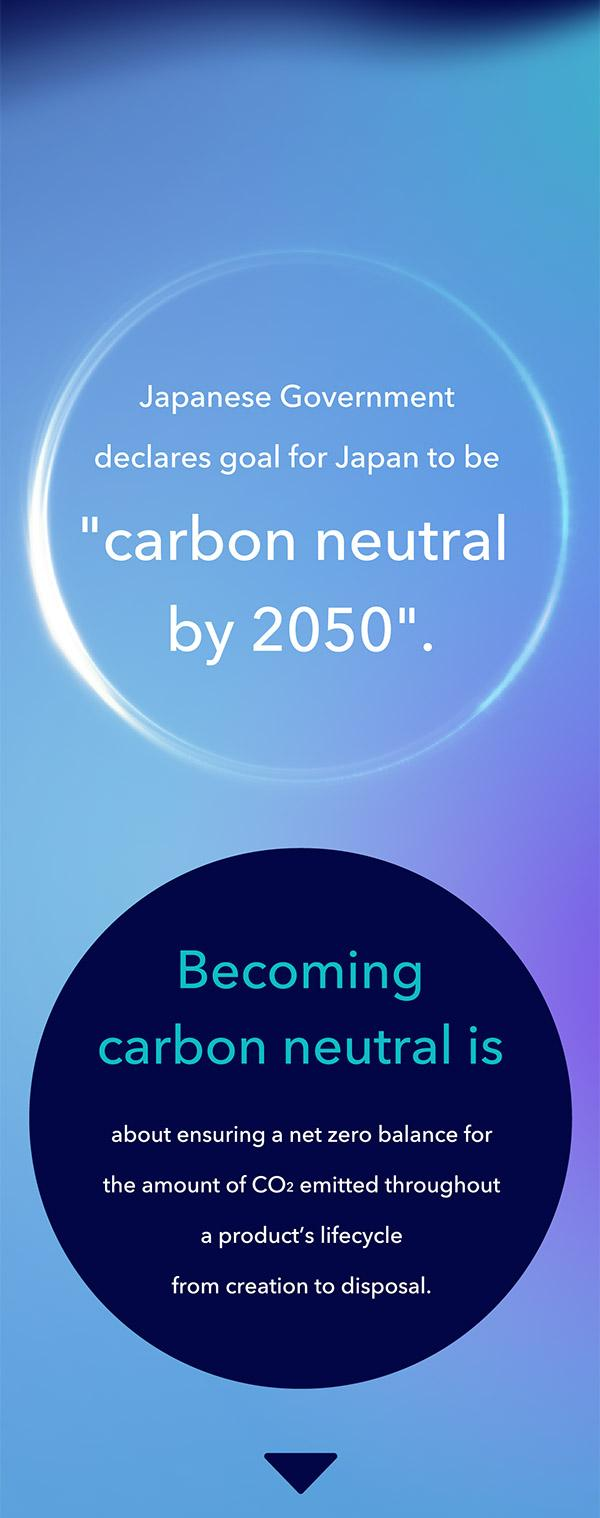 Becoming carbon neutral is about ensuring a net zero balance for the amount of CO2 emitted throughout a product's lifecycle from creation to disposal.