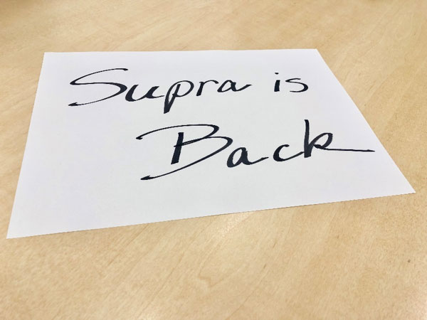 Supra is Back